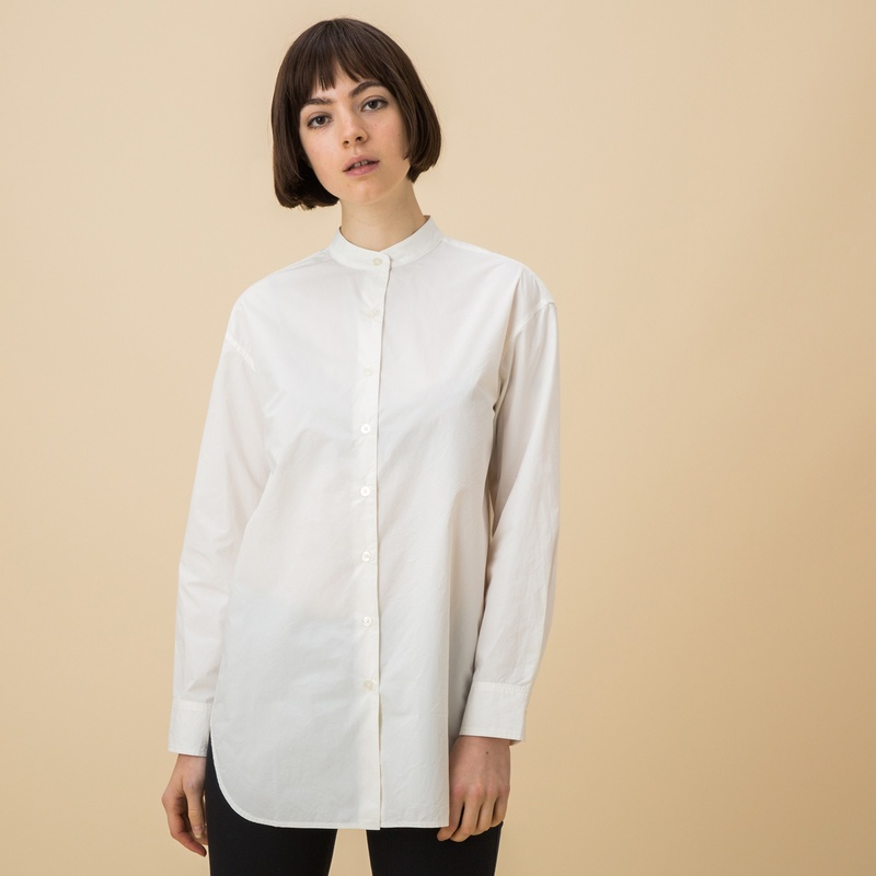 襟 なし シャツ Amazon.co.jp: 襟なしシャツ