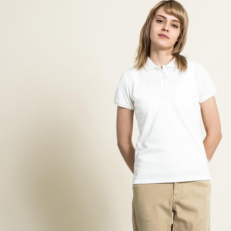 50%OFF!AIGLE レディース レディース 吸水速乾 マリン ポロシャツ ZPF3200 white (001) シャツ・ポロシャツ