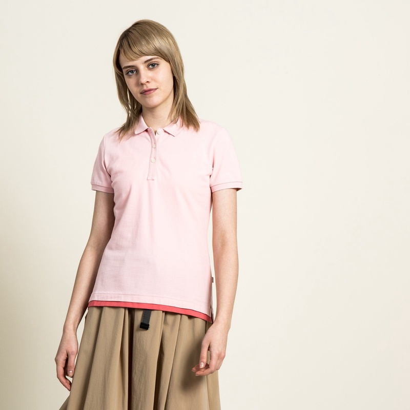 AIGLE レディース レディース アイシーポロ ストレッチシャツ ZPFG131 CHRISTAL ROSE (003) シャツ・ポロシャツ