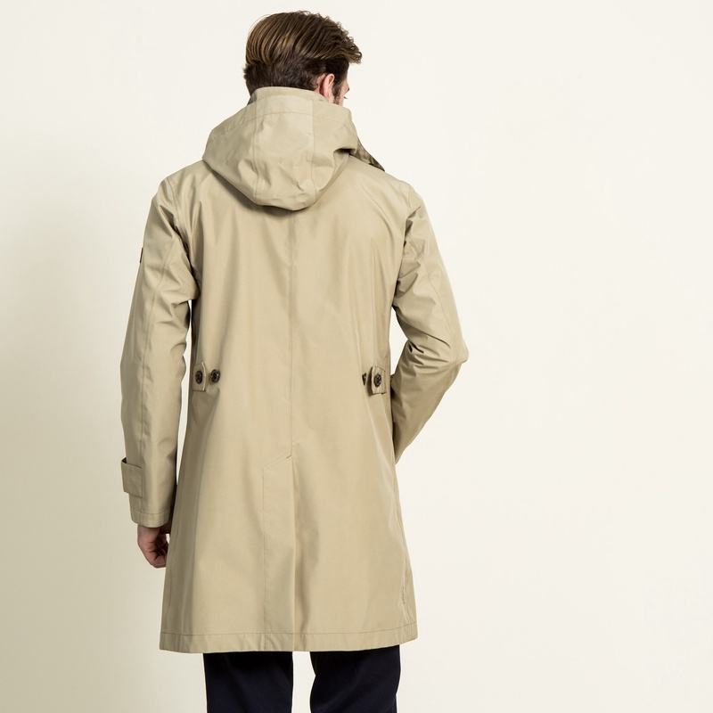 Aigle Gore-Tex 3-layer Coat ZBH1400: Beige