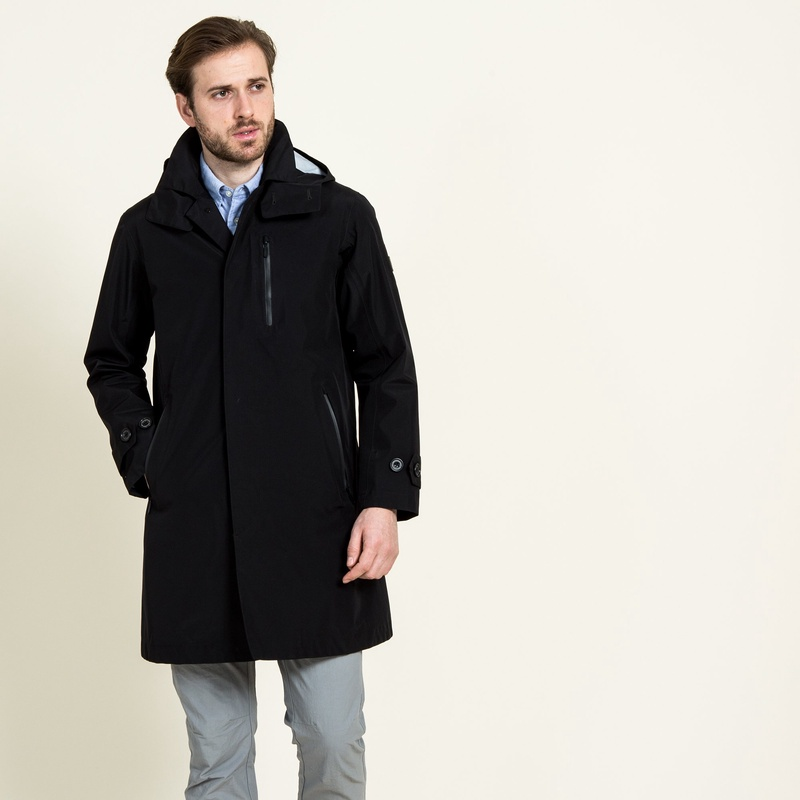 Aigle Gore-Tex 3-layer Coat ZBH1400: Black