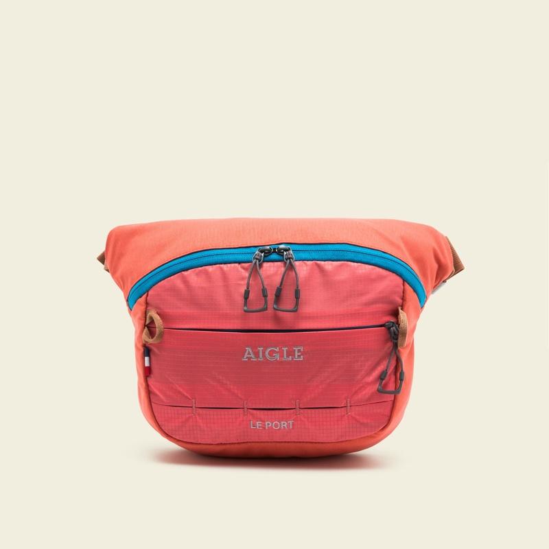 50%OFF!AIGLE メンズ レディース シャドーリップウエストバック ZNH3814 pink (001) バッグ・小物